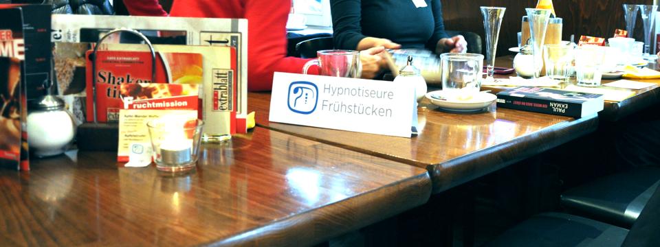 Hypnotiseure frühstücken in den Januar 2015