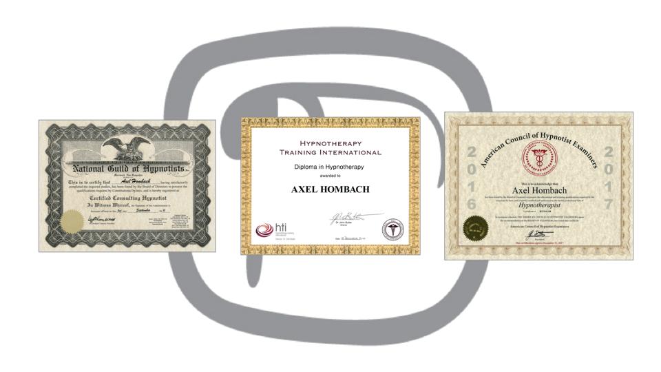 NOJ Hypnose Zertifikate