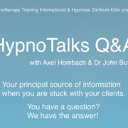 HypnoTalks Q&A with Axel Hombach and Dr John Butler